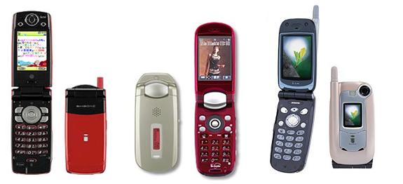 2004年のケータイ電話