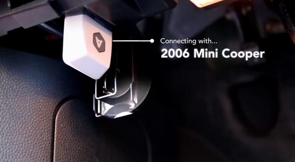加速度センサーとGPSを内蔵 日々の走行データを蓄積「Automatic」